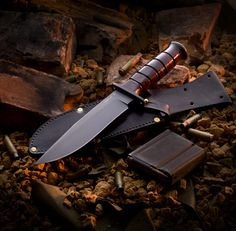 Combat Knife, McMillan Custom Knife, Military Knife, Tactical Knife, Hunting Knife, Survival Knife, Custom Knives