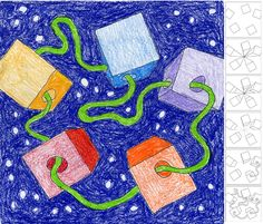 One-Point Perspective Drawing   Art Projects for Kids