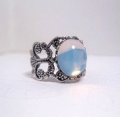 Hey, I found this really awesome Etsy listing at https://www.etsy.com/listing/229489672/adjustable-opal-ring-opalite-ring