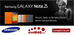 Nou!Telefon Mobil Galaxy Note 3 N9005, Procesor Quad-core 2.3 GHz Krait 400, Super AMOLED capacitive touchscreen 5.7″, 3GB RAM, 32 GB Flash, 13MP, Wi-Fi, 4G, Android 4.3 (Negru)
