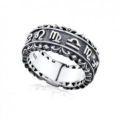 Magical Power series-Sterling Silver Magic of Constellation Ladies Ring