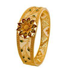 Wedding Jewellery Designs, Gold Ring Designs, Gold Bangles Design, Gold Earrings Designs, Gold Jewellery Design, Fancy Jewellery, 18k Gold Jewelry, Silver Bracelets, Jewelery