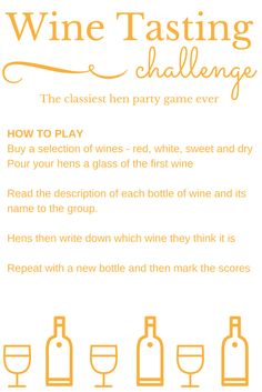 This is an image of Delicate Wine Tasting Games Printable
