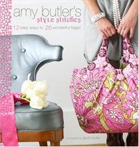 Super Style Bag Swap Update & Amy Butler Talks about Style Stitches | Sew Mama Sew |