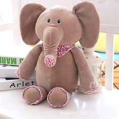Cartoon high quality elephant posture elephant doll pillow plush toy girlfriend birthday gift