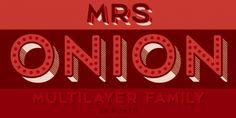 Mrs Onion font download