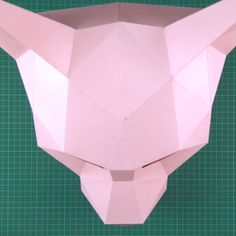 Halloween Kostüm, Halloween Cards, Halloween Carnival, Paper Crafts Origami, Diy Paper, Instruções Origami, Paper Mask, Cat Mask, Animal Masks