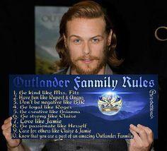 Outlander Family Rules