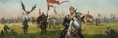 Game of Thrones - House Targaryen, Tomasz Jedruszek on ArtStation at https://www.artstation.com/artwork/game-of-thrones-house-targaryen