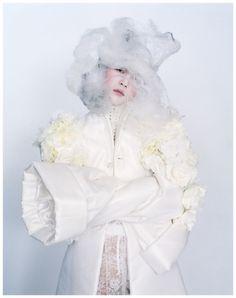 Comme des Garçons s/s 2012 rtw, Liu Wen by Tim Walker.