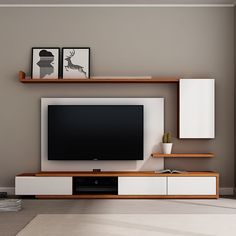 Living room tv wall unit in bedroom bedroom unit desn living room tv unit interior design . Modern Tv Cabinet, Modern Tv Wall Units, Modern Shelving, Built In Tv Wall Unit, Modern Cabinets, Modern Wall, Bedroom Tv Stand, Bedroom Tv Wall, Tv Unit For Bedroom