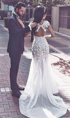 white wedding dresses, wedding dresses with fur, long mermaid wedding dresses, new arrival wedding dresses high quality wedding dresses, special wedding dresses, unique wedding dresses