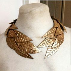 Triss necklace by Lightning cosplay - black worbla