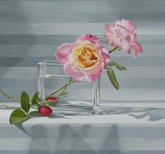 """Rose Rhapsody"" by Jane Jones, oil Learn to paint with gorgeous colors. http://www.shopjanejonesartist.com/"