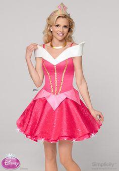 Sleeping Beauty Ladies Fairytale Princess Fancy Dress Womens Costume Outfit 8-18