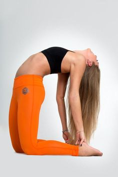 We'd bend over backwards for yoga gear this bold.