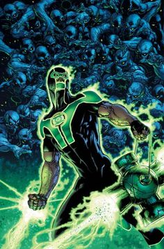 Simon Baz is an officer of the Green Lantern Corp's Space Sector 2814 and was a member of Steve Trevor's Justice League of America. He received the fused power ring of Hal Jordan and Thaal Sinestro after their power rings presumed them both dead during the events of Rise of the Third Army.