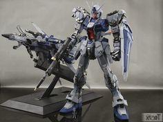 PG 1/60 GAT-X105 Strike Gundam [Aile Striker + Skygrasper] - Customized Build