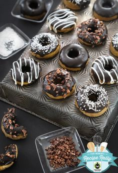 Chocolate Glazed Coconut Flour Doughnuts and a Fair Trade Giveaway! | Sprinkle Bakes