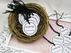 Made By Tags Price Tags Craft & Trade Show by GoldenNestStudio