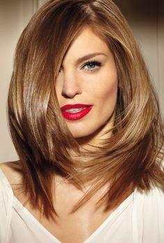 awesome Женская стрижка лесенка на средние волосы в 2016 — С челкой и без (фото)