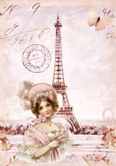 Pink Victorian Paris...