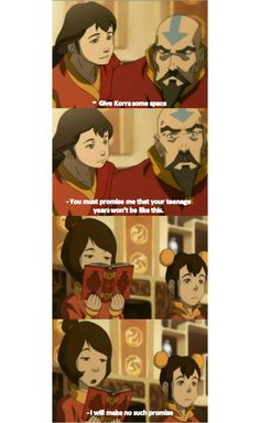 The Legend of Korra- not for A:tLA, but still funny!