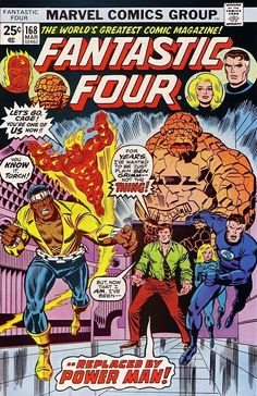 Fantastic Four #168 - Where Have All the Powers Gone?