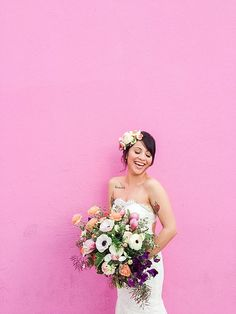 Spring to Summer Los Angeles Urban Bridal Inspiration | Southern California Bride