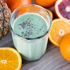 Start your day off with this delicious citrus pineapple energy smoothie to stay energized all day without crashing.