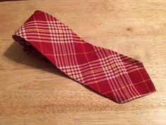 Vintage 1950s - Palm Beach Goodall-Sanford Beau Brummell 4-Fold Mens Tie #PalmBeachGoodallSanfordbyBeauBrummell #NeckTie