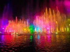 World of Color - Disneyland. Dream date.