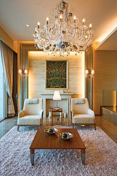 STEVE LEUNG DESIGNERS - Elegant interior design  decor / via Lexie Amarandos