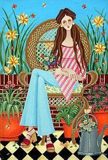 Argentina ~ Mariangeles Puente Duran ~ A Spring Portrait
