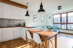 [Most Updated] Stylish Kitchen Cabinet Design Ideas 2019 Smart Kitchen, Stylish Kitchen, New Kitchen, Kitchen Ideas, Living Room Cabinets, Living Room Kitchen, Dining Room, Kitchen Cabinet Doors, Kitchen Cabinet Design