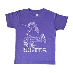 Big Sister Unicorn Kids Shirt - Fairy Tale Girls T Shirt - Sci Fi Girls Clothing - Baby Toddler and Youth - Childrens Clothing  - These are