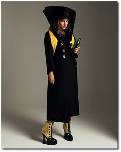 Nikolay Biryukov Shoots Shabby Style on Svetlana Kudina for SnC Magazine