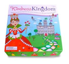 Kindness Kingdom board game - It is fun to play a princess game with young girls.