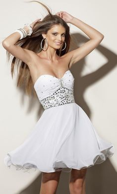 Strapless Sweetheart Short Dress 9155 by Mori Lee ML-9155 - $218