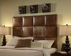 Schon Leather Headboard