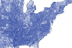 All Rivers – A Map of Every River in America