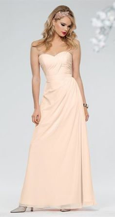 Jordan Bridesmaid Dresses pair with a blush peachy chiffon pashmina silk wrap and complete a beautiful look.