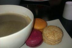 Morning coffee @ Patisserie Madeleine Morning Coffee, Edinburgh, Pudding, Tableware, Desserts, Food, Madeleine, Tailgate Desserts, Dinnerware