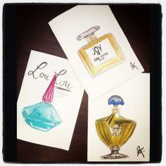 Parfum postcard series©