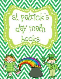 St. Patrick's Day Math Books