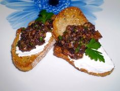 Pan con champignones