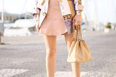 Veronica Giomini wearing the World Cuff at Fashion Week Australia // Cristina Ramella Jewelry