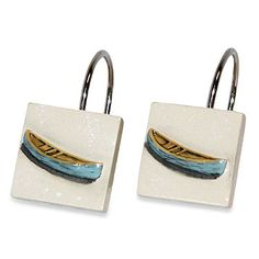 Waterside Shower Curtain Hooks (Set of 12) - BedBathandBeyond.com