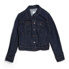 Pre-owned Old Navy Denim Jacket (19 CAD) ❤ liked on Polyvore featuring outerwear, jackets, dark blue, old navy, dark blue jean jacket, dark blue jacket, jean jacket and old navy jackets
