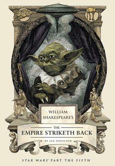 Star Wars Film, Star Wars Books, Star Wars Art, William Shakespeare, Starwars, Science Fiction, Science Space, Fanart, Original Trilogy